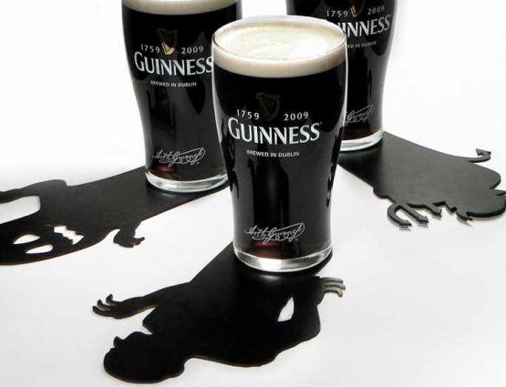 Halloween Promotional Coasters by Guinness Prove a Hit #CleverPromoGifts