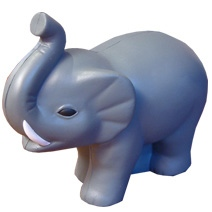 Elephant Shaped Stress Toy