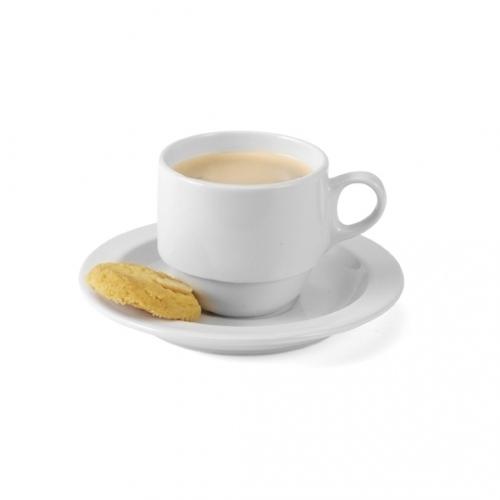 Porcelain Mug And Saucer