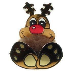 Fun Reindeer Logo Bug