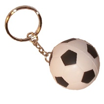 Football Keyring Stress Toy