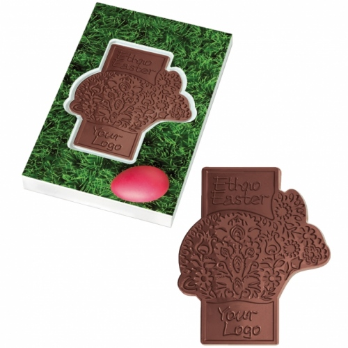 Chocolate Bunny Shape in a Box