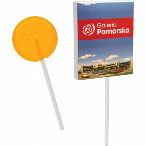 Lollipop in a Flat Box