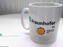 Promotional Cambridge Mugs Help Create Awareness for Fraunhofer UK #ByUKCorpGifts