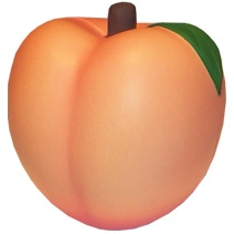 Peach Stress Toy
