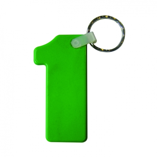 Standard No 1 Shape Keyfob
