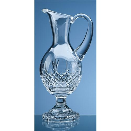 35.7cm Lead Crystal Panel Claret Jug
