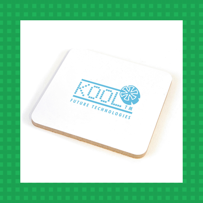 trade show giveaway coasters