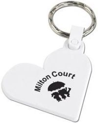 Heart Shape Keyfob