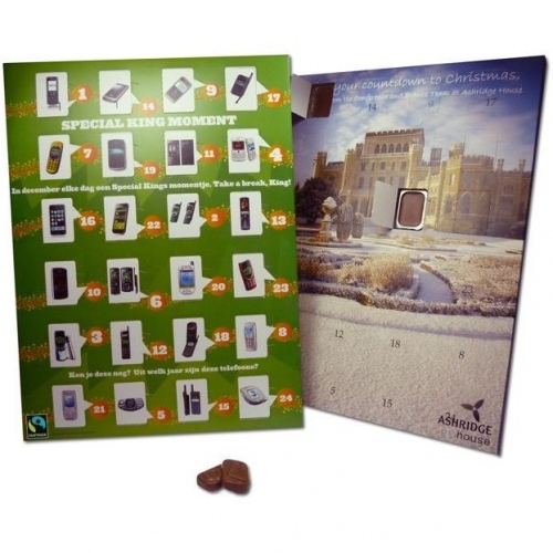 Traditional Christmas Advent Calendar