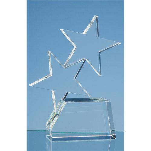 20cm Optic Double Rising Star Award