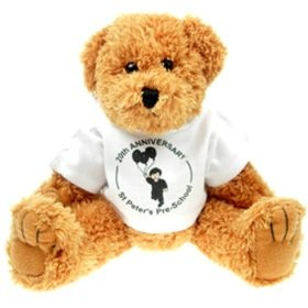 25 cm Sparkie Jointed Bear in a T-Shirt