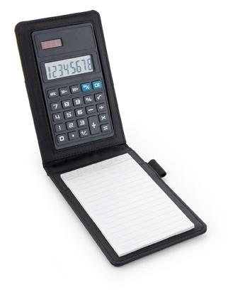 Poylester Note Book And Calculator