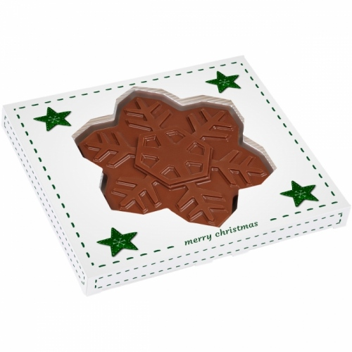 Mini Chocolate Snowflake in a Box