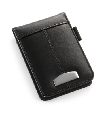 Mini Bonded Leather Notebook