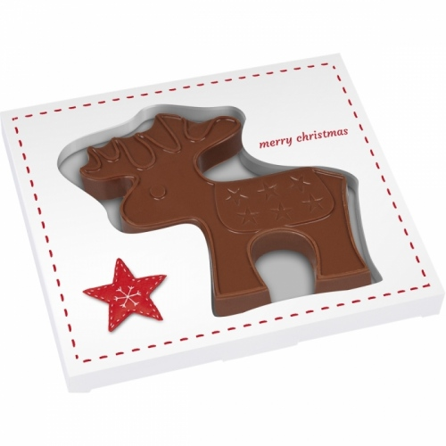 Mini Chocolate Reindeer in a Box