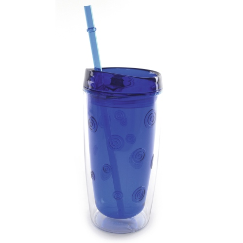 Plastic Double Wall Tumbler