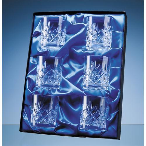 Universal 6 Glass/Award Satin Lined Presentation Box