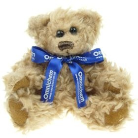 15 cm Windsor Jointed Bear with Bow