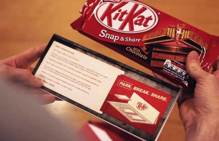 Promotional Packaging Worked a Treat for KitKat #CleverPromoGifts