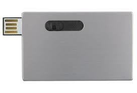 Slide Credit Card USB Flash Drive