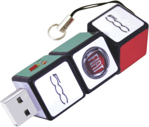 Rubiks Cube 2GB USB Flash Drive