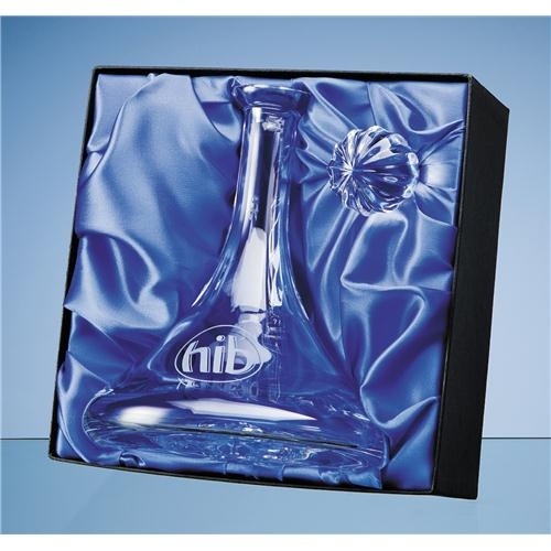 Ships Decanter Satin Lined Presentation Box