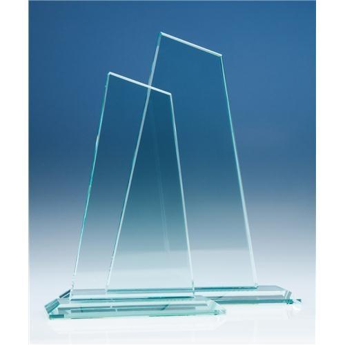 20cm Jade Glass Mountain Award