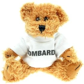 15 cm Sparkie Jointed Bear in a T-Shirt