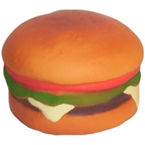 Hamburger Stress Toy