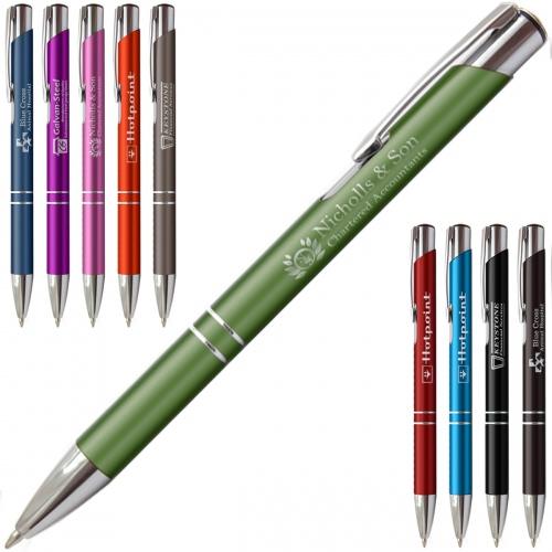 Matte Paragon Ballpoint Pen