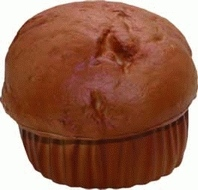 Muffin Stress Toy