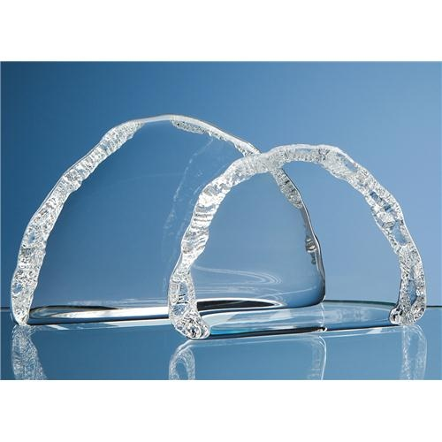 9cm Lead Crystal Ice Block