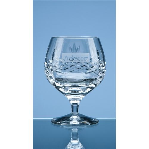 Mayfair Lead Crystal Panel Brandy