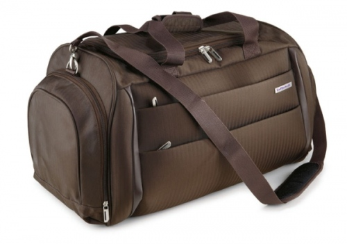 Executive Stripe Travel Duffel