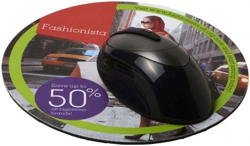 Q-Mat Round Mouse Mat