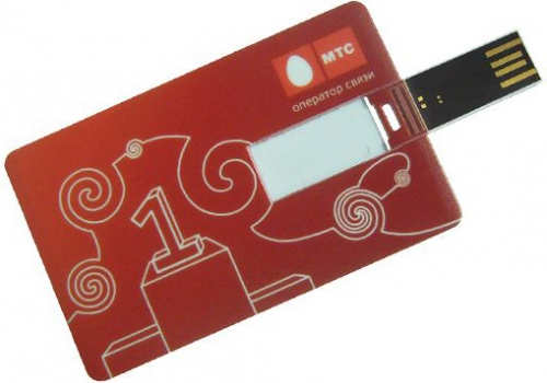 Slimline Credit Card USB Flash Drive