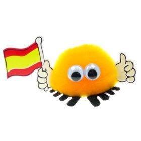 Spain Flag Handy Logo Bug