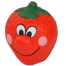 Strawberry Face Stress Toy
