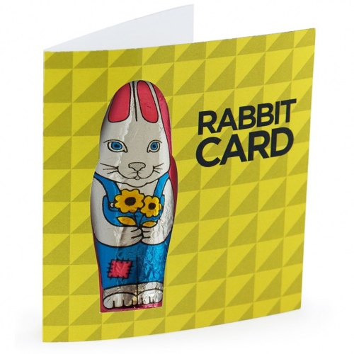 Easter Rabbit Card