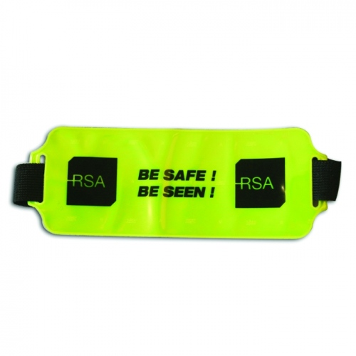 Hi Vis Elasticated Armbadge