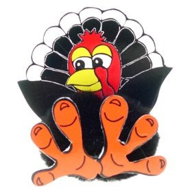 Fun Turkey Logo Bug