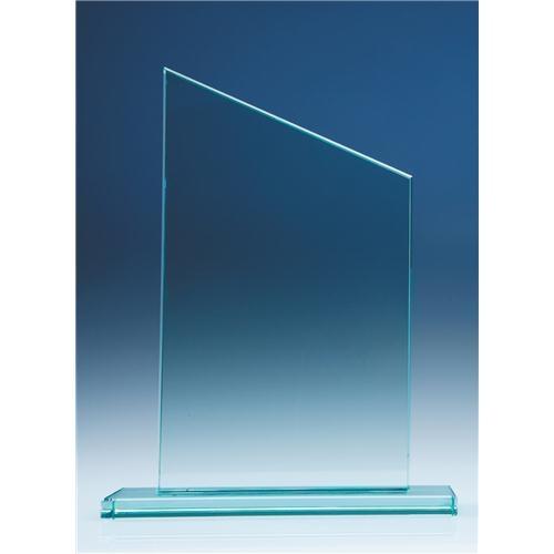 250 mm Slope Award, 12 mm Jade Glass