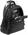 "Lyns 17"" Laptop Trolley Backpack 4"