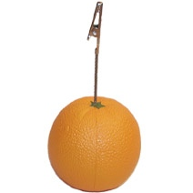 Stand Orange Stress Toy