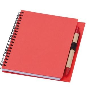 A5 Seville Notebook with Recycled Card Cover