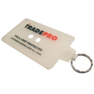 Credit Card Holder Keyring