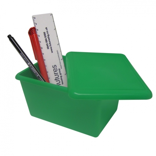 Recycled Waste Bin And Lid