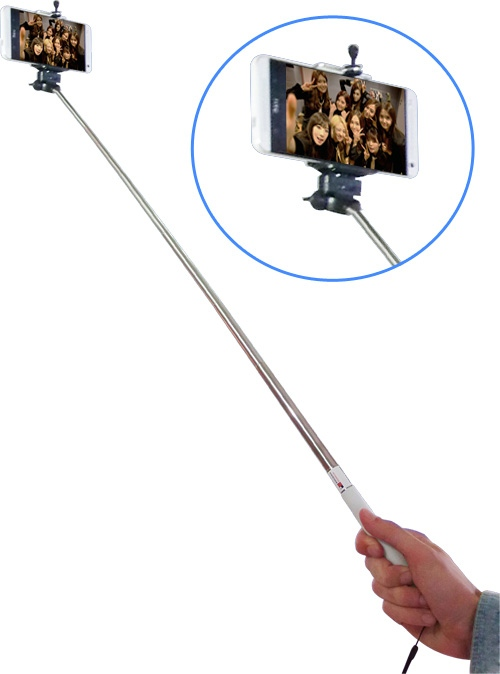 Plug and Play Selfie Stick