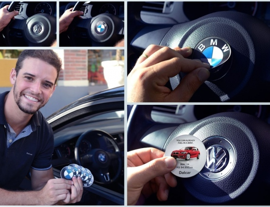 Promotional Stickers Increase BMW's Test Driver Numbers by 34% #CleverPromoGifts